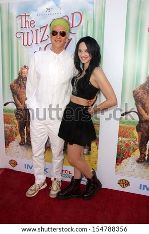 "LOS ANGELES - SEP 15:  Matthew Modine, Ruby Modine at the ""The Wizard Of Oz 3D"" World Premiere Screening at TCL Chinese IMAX Theate on September 15, 2013 in Los Angeles, CA - stock photo"