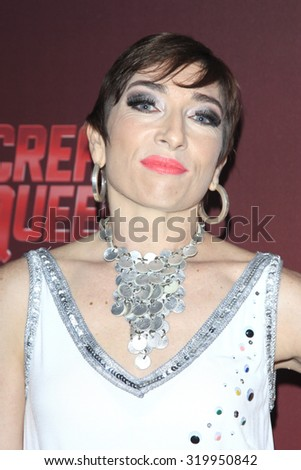 "LOS ANGELES - SEP 21:  Naomi Grossman at the Premiere of FOX TV's ""Scream Queens"" at the Wilshire Ebell Theater on September 21, 2015 in Los Angeles, CA - stock photo"