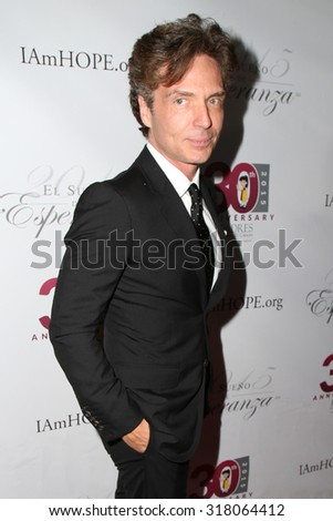 "LOS ANGELES - SEP 17:  Richard Marx at the Padres Contra El Cancer's 15th Annual ""El Seuno De Esperanza"" at the Boulevard3 on September 17, 2015 in Los Angeles, CA"
