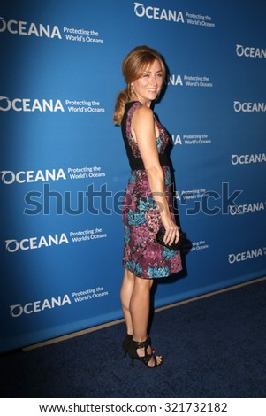 """LOS ANGELES - SEP 28:  Sasha Alexander at the """"Concert for Our Oceans"""" benefitting Oceana at the Wallis Annenberg Center for the Performing Arts on September 28, 2015 in Beverly Hills, CA - stock photo"""