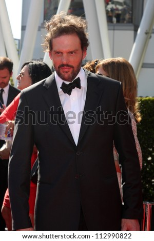 LOS ANGELES - SEP 15:  Silas Weir Mitchell arrives at the  Primetime Creative Emmys 2012 at Nokia Theater on September 15, 2012 in Los Angeles, CA