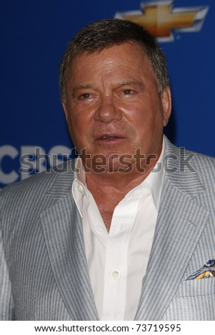 LOS ANGELES - SEP 16:  William Shatner arriving at the CBS Fall Season Premiere Event at The Colony in Los Angeles, California on September 16, 2010. - stock photo