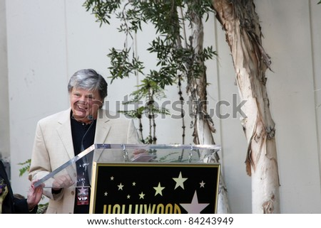 LOS ANGELES - SEPT 7: Phil Everly at the Buddy Holly Walk of Fame Ceremony at the Hollywood Walk of Fame on September 7, 2011 in Los Angeles, CA - stock photo