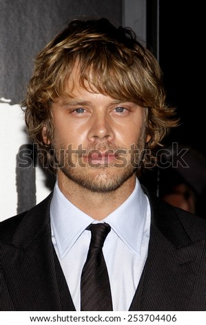 """LOS ANGELES, USA - OCTOBER 10: Eric Christian Olsen at the Los Angeles Premiere of """"The Thing"""" held at the Universal Studios Hollywood in Hollywood, USA on October 10, 2011. - stock photo"""