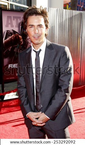 """LOS ANGELES, USA - OCTOBER 2: Shawn Levy at the Los Angeles Premiere of """"Real Steel"""" held at the Gibson Amphitheatre in Universal City, USA on October 2, 2011. - stock photo"""