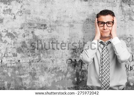 loser businessman - stock photo