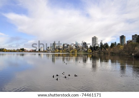 Lost Lagoon in Vancouver