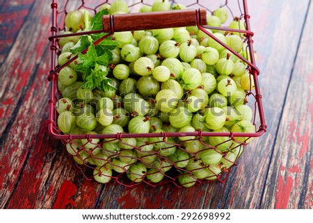 lots of delicious gooseberry - fruits and vegetables