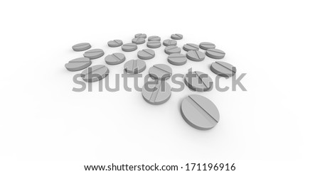 Lots of pills