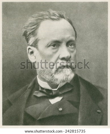 Louis Pasteur 18221895 French Chemist Microbiologist Stock Photo
