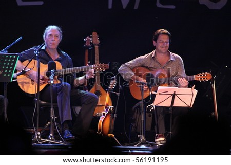 LOULE, PORTUGAL - JUNE 26: Rene Aubry  performs onstage at Festival Med June 26, 2010 in Loule, Portugal.