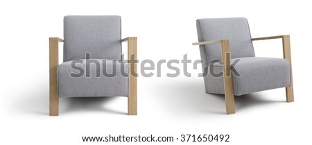 Lounge chair - stock photo