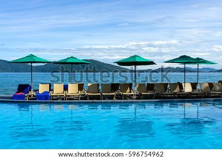Man Made Waterfall Swimming Pool Kota Stock Photo 577650280 Shutterstock
