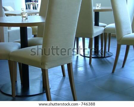 lounge interior - stock photo