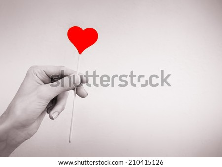 Love and health care concept.  - stock photo