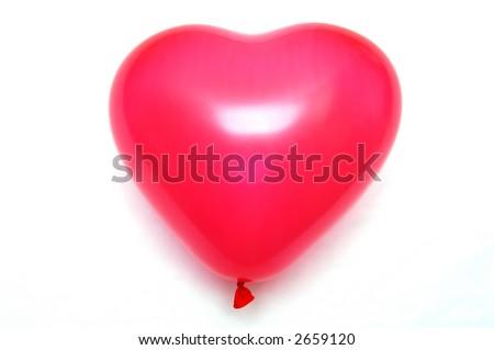 Love Baloon - stock photo