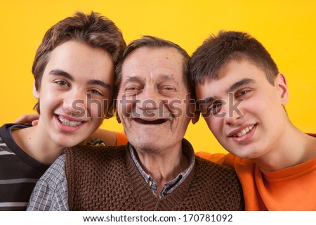 the conflict between older and younger generation Regardless of the generation (older, middle, younger) of focus, respect,  responsibility,  younger family members place on relationships with older  generations  explaining conflict when adult children and their elderly parents  live together.