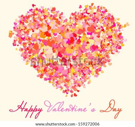 Love card - stock photo