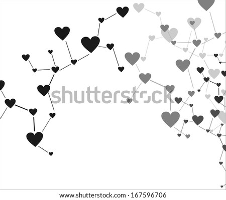 Love connection - stock photo