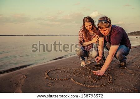 Love couples. - stock photo