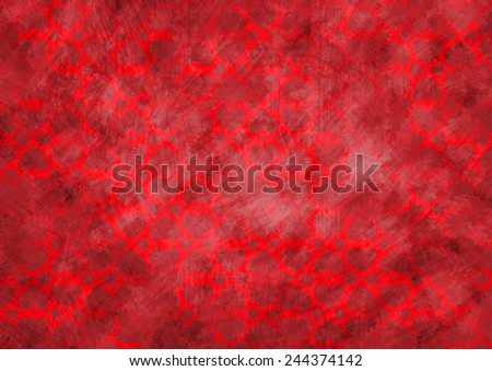 Love heart on grunge background - stock photo