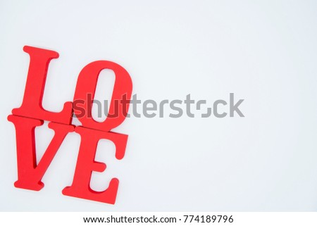Love is to express.(Love alphabet)