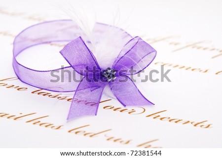 Love letter - stock photo
