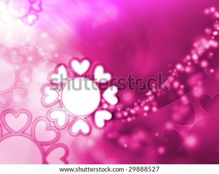 love romantic background - stock photo