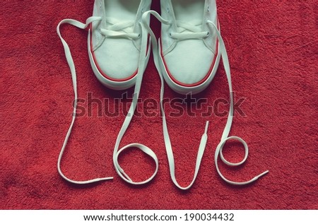 Love shoes - stock photo