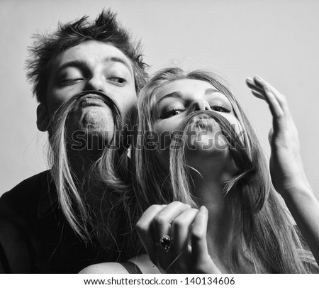 Love story - stock photo