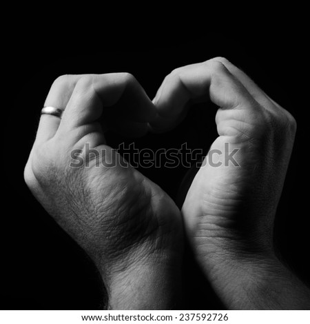 love symbol - stock photo