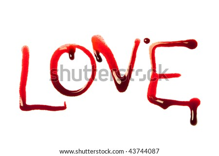 Love Written In Blood Wallpaper : Hand Blood Name Wallpaper Wallpaper Images
