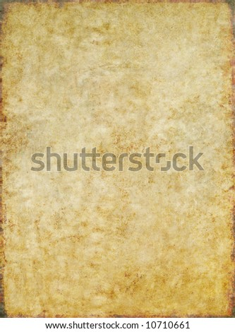 lovely brown background image with interesting earthy texture, floral elements and plenty of space for text - stock photo