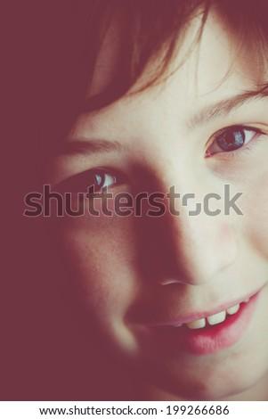 lovely child - stock photo