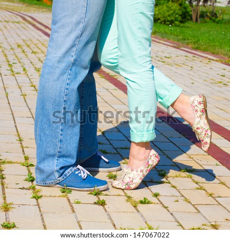 Lovely Couple. Concept - stock photo