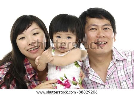 Lovely Family - stock photo