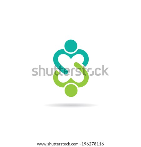 Lovely friendship image. Concept of compromise, partnership, union - stock photo