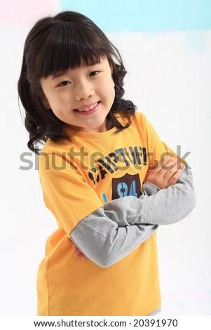 Lovely Girl - stock photo