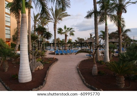 Lovely Hotel in Caleta de Fuste (Canary Islands)