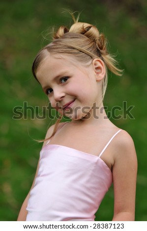 Lovely princess - stock photo