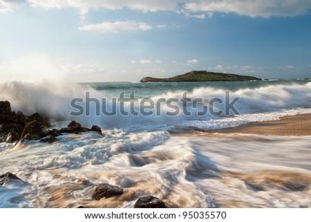 Lovely Seascape - stock photo