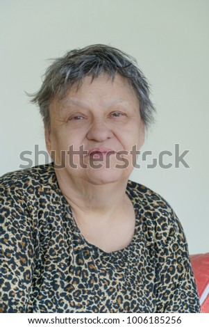 lovely senior woman
