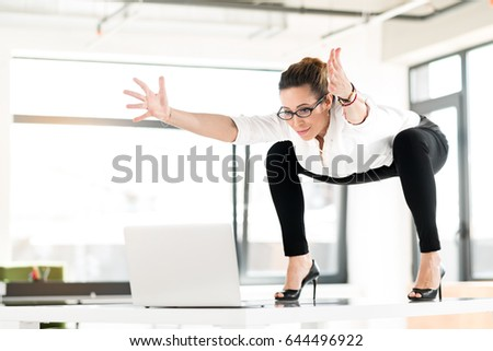 Office Posture Stock Images Royalty Free Images Amp Vectors