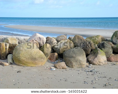 Low tide4 - stock photo
