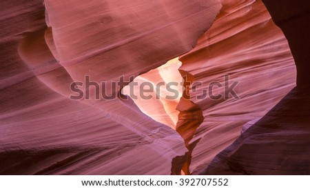 Lower Antelope Canyon. Arizona. USA