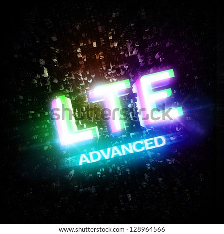 LTE ADVANCED highspeed concept