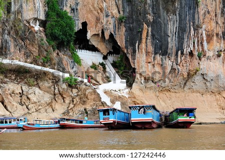 luang prabang - stock photo