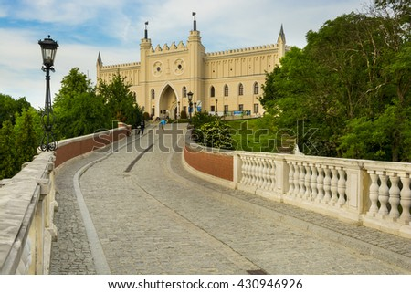 LUBLIN, POLAND - JUNE 02, 2016. The medieval royal castle in city center, Lublin, Poland on June 02, 2016 - stock photo
