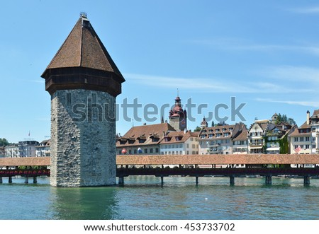 Lucerne, Switzerland - stock photo