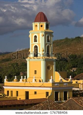 Lucha Contra Bandidos, Trinidad, Cuba - stock photo